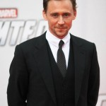 Tom Hiddleston with a smirk