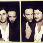 Hiddlesworth - sepia photobooth