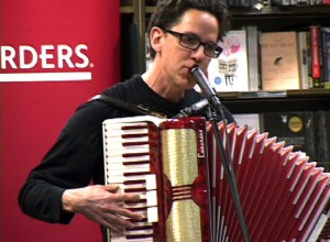 John Linnell middle aged accordion player