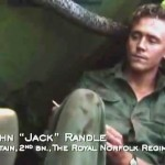 Tom Hiddleston as Capt Randal in Victoria Cross Heroes